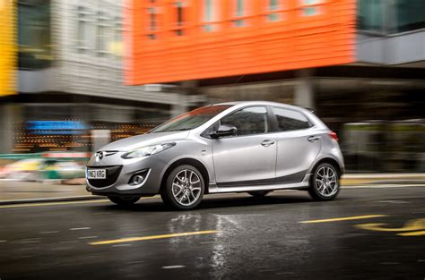 mazda line two colour edition models added to mazda2 line up