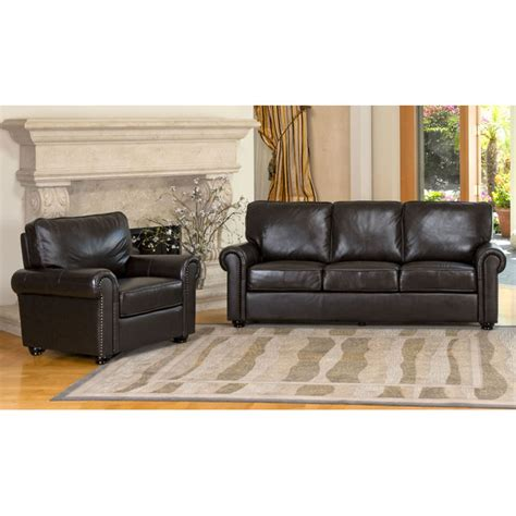 sofa shop london london dark brown leather armchair and sofa set dcg stores