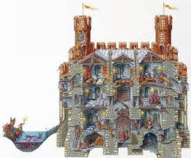 stephen biesty illustrator cross sections gatehouse