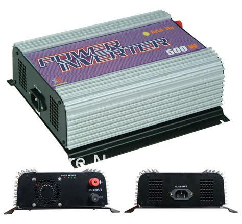 wholesale solar inverter free shipping 500w inverter grid tie inverter power inverter solar inverter sun 500g mppt