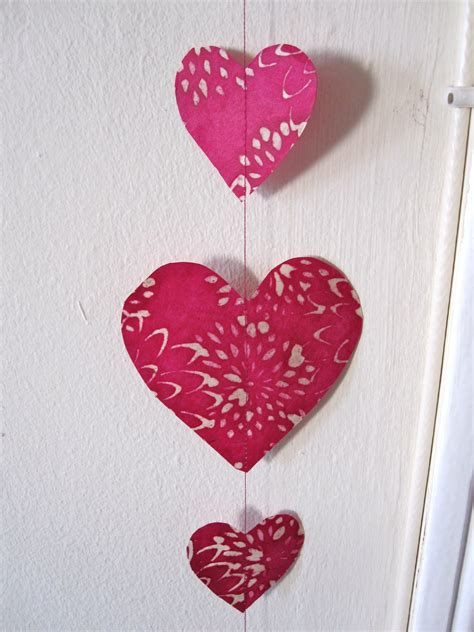 heart decorations home how to make hanging paper decorations six twists