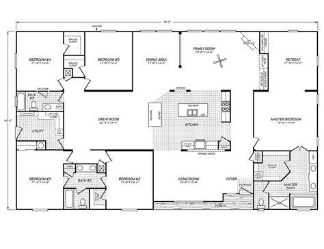 100 1999 fleetwood mobile home floor plan the