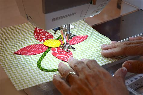 tutorial applique machine appliqu 233 tutorial weallsew bernina usa s
