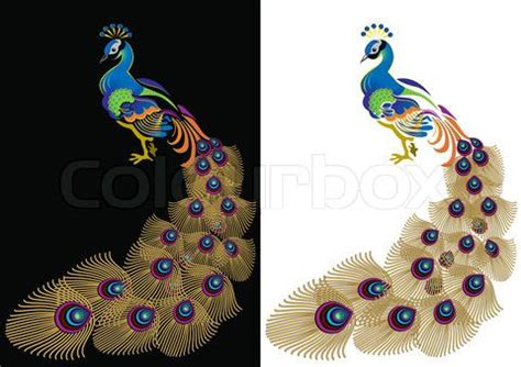 printable quilling patterns printable quilling patterns stock image of peacock