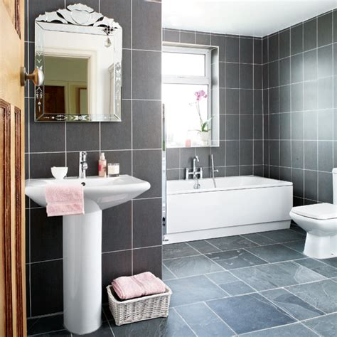 Grey Bathrooms Decorating Ideas Bathroom Designs Grey And White Grey And White Bathroom Design House Decor