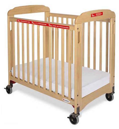 foundations responder fixed side evacuation crib