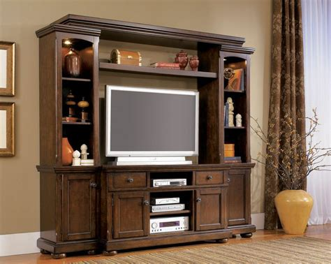 living room entertainment center essence 4pcs rustic cottage birch 55 quot tv entertainment
