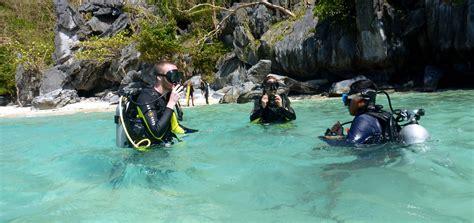 Padi Course aquanaut dive center scuba diving in el nido palawan