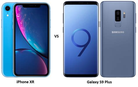 apple iphone xr vs samsung galaxy s9 plus the battle of arch rivals versus by compareraja