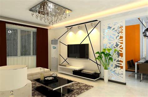 Perfect wooden floor plans for modern living room 2