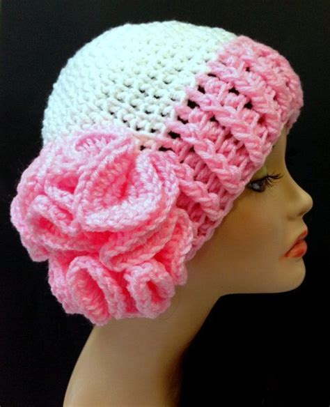 breast cancer awareness hat crochet s by