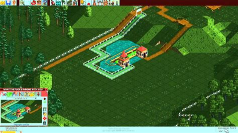 boat roller r plans plan rollercoaster tycoon leafy lake part 11 youtube