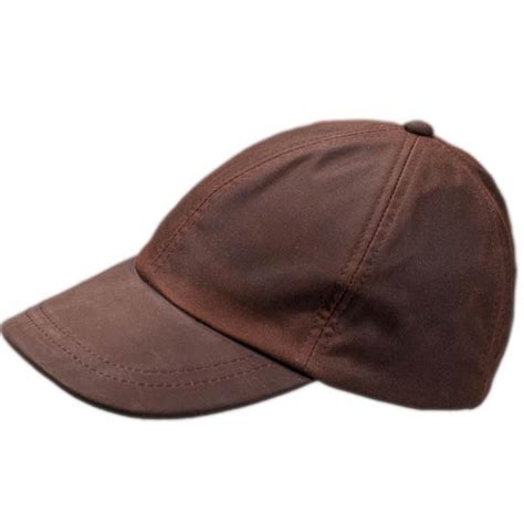 wax baseball cap brown baseball hat hatman of ireland