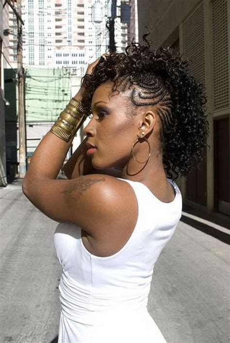 one sided mohawk weave hairstyles for black women shaved mohawks for black women download long mohawk