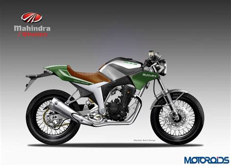 mahindra 2 wheeler the new breed of two wheelers from mahindra as envisioned