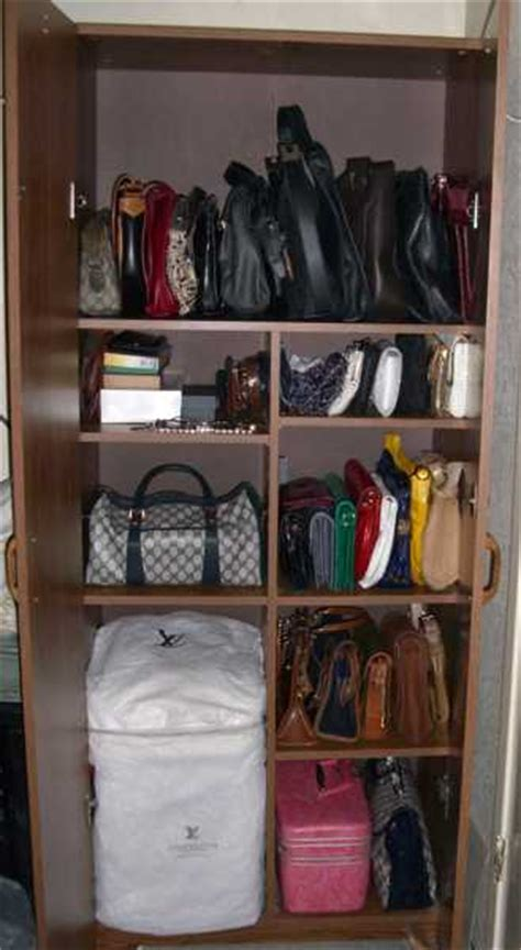 Handbag Storage Cabinet by 40 Handbag Storage Solutions And Home Organizers For Small