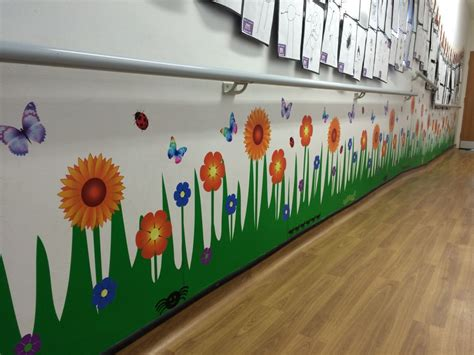 Flower Wall Mural wall art red parrot signs company manchester