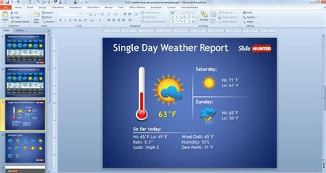 ppt templates free download weather free weather forecast powerpoint template free