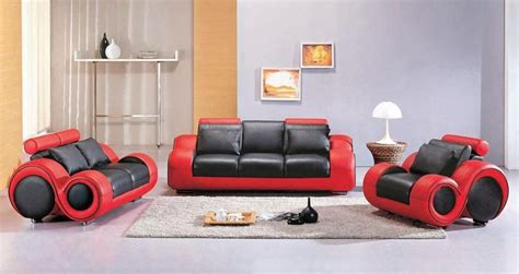 red and black couch set contemporary black and red leather sofa set atlanta