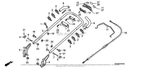 honda mower parts diagram honda gcv160 lawn mower parts diagram imageresizertool