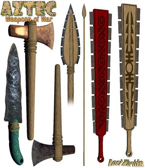 imagenes de armas aztecas argoth el errante guerreros mexica