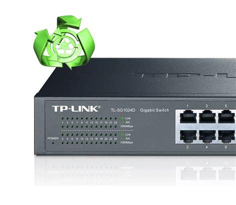 Tplink 24 Port Gigabit Desktop Rackmount Switch Tl Sg1024d tp link tl sg1024d 24 port unmanaged gigabit desktop rackmount switch laptops direct