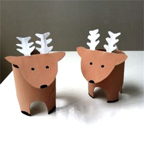 reindeer paper crafts 50 reindeer decorations to make pink lover