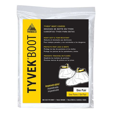 tyvek high top boot guards 04511 36 the home depot