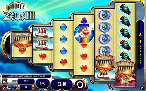 join  thunder god play zeus iii slot machine