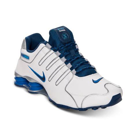 mens nike shox nz eu running shoes nike mens shox nz eu running sneakers from finish line in