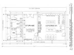 Concession Stand Floor Plans Rcs Sports Association
