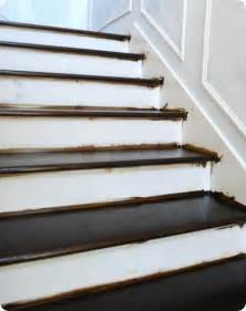 How To Stain Banister For Stairs Finished Staircase Centsational