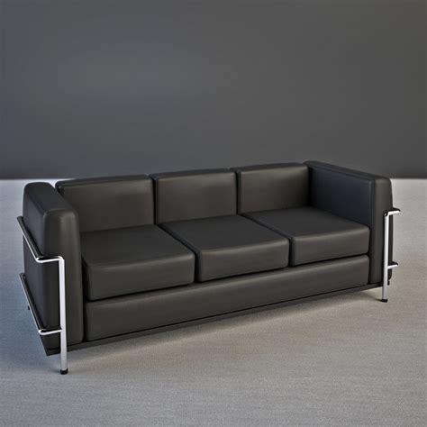 le corbusier lc2 sofa 3d le corbusier sofa lc2