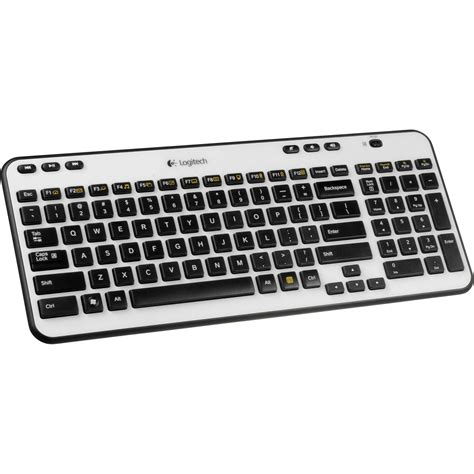Keyboard Logitech K360 logitech k360 wireless keyboard ivory 920 003365 b h photo
