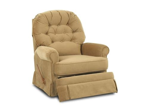 Klaussner Living Room Ferdinand Swivel Rocker Recliner Living Room Recliner Chairs