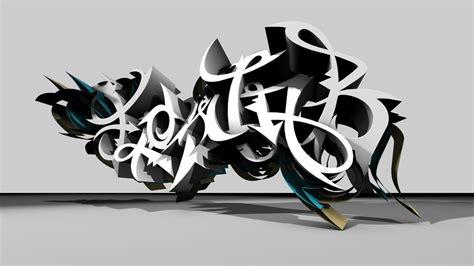 imagenes en 3d grafitis graffitis 3d taringa
