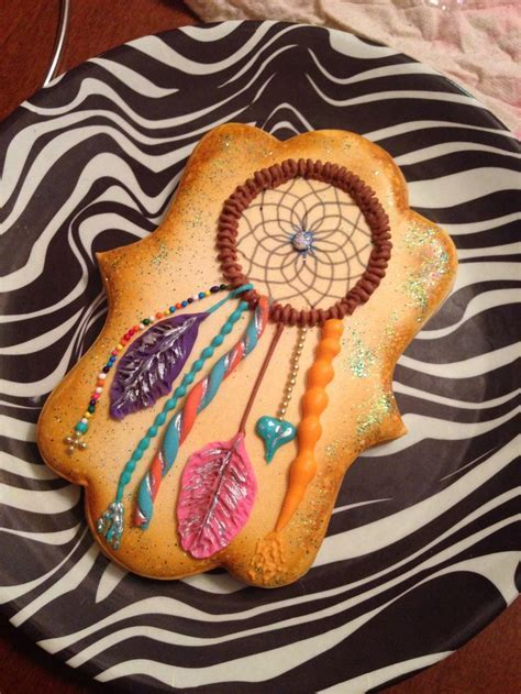 Dream catcher cookies from #atecraftnight #atepinningparty