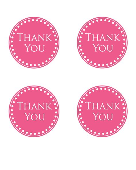 thank you for coming to my template simply this and that thank you basket printable tag