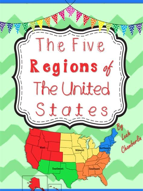 5 regions of the united states printable map 55 best images about regions of the united states on