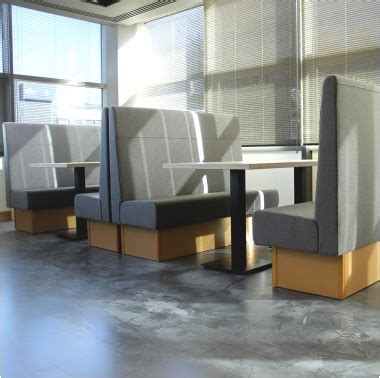Bench Seating In Kitchen Office Booths Booth Seating Banquette Seating