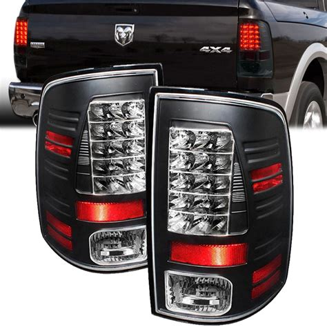 ram led tail lights spyder 09 15 dodge ram truck factory led model