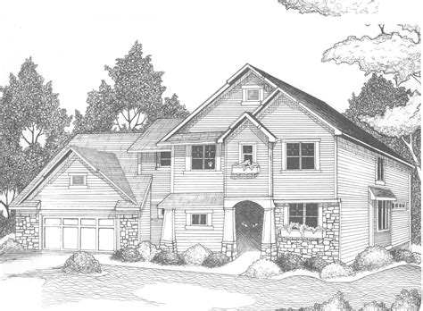 drawings of houses house drawing pictures to pin on pinterest pinsdaddy