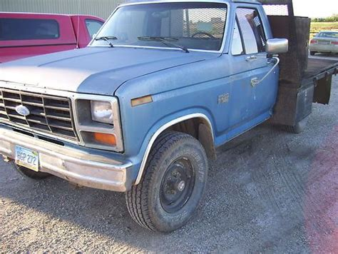 how to work on cars 1985 ford f series head up display buy used 1985 f250 diesel 6 9 manual transmission 4wd work truck botno in bottineau north