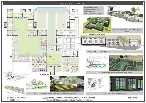 Floor Plans For My Home by Juvenile Correction And Rehabilitation Centre On Behance