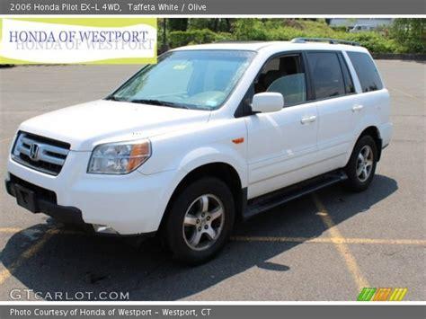 2006 Honda Pilot Ex L by Taffeta White 2006 Honda Pilot Ex L 4wd Olive Interior