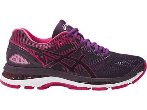 Sepatu Asics Gel Nimbus 19 gel nimbus 19 black cosmo pink winter bloom asics us