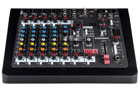 Mixer Allen Heath 8 Channel allen and heath zedi 10 fx compact usb mixer 8 channel