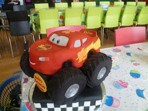 lightning mcqueen monster truck videos lightning mcqueen monster truck cakecentral com