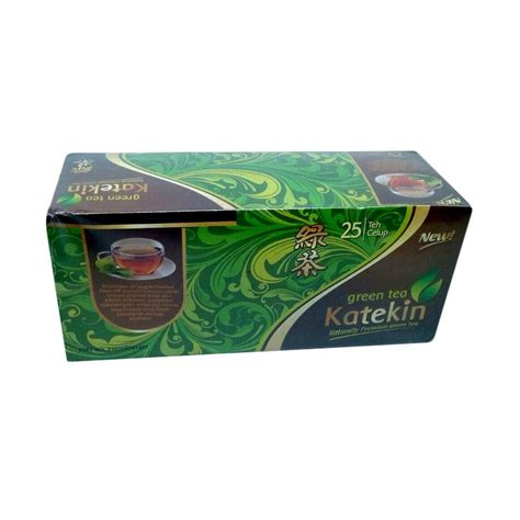 Produk Teh Hijau jual katekin green tea teh hijau celup harga