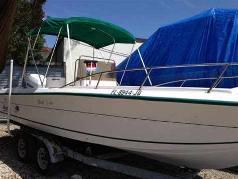 1996 22 foot angler center council open fish fishing boat - Center Council Boats For Sale